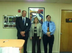 I was happy to catch up with Drs. Deborah Francis and Richard Marseglia at Nashaway Pediatrics