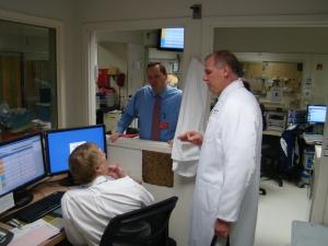 I had a great visit with caregivers at Marlborough Hospital