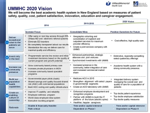 UMMHC 2020 Vision_updated April 15th 2014.pptx
