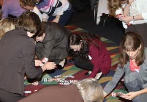 The fun and interactive Personality Poker game helped event attendees identify their innovation style. It also helped people discover who complements their style – no matter if they're Spades, Clubs, Hearts or Diamonds.