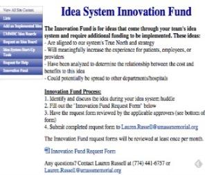 Idea System Innovation Fund