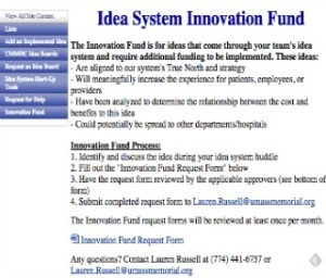 Idea System Innovation Fund