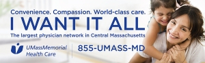 The 855-UMass-MD number is used in our primary care marketing campaign
